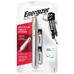 Energizer Metal Pen Light - Led Toll Lámpa - 35 lm - 2x AAA elemmel