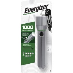 Energizer Vision HD Rechargeable Metal Light - 1000 lm - USB - Akkuval