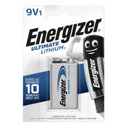 Energizer Ultimate Lithium 9V Elem
