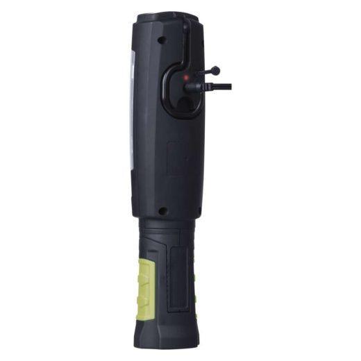 Emos LED Szerelő Lámpa 3W COB + 6 LED - 380 lm - Újratölthető - Akkuval