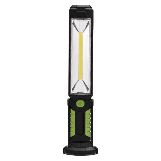Emos LED Szerelő Lámpa 5W COB + 5 LED - 500 lm - Újratölthető - Akkuval