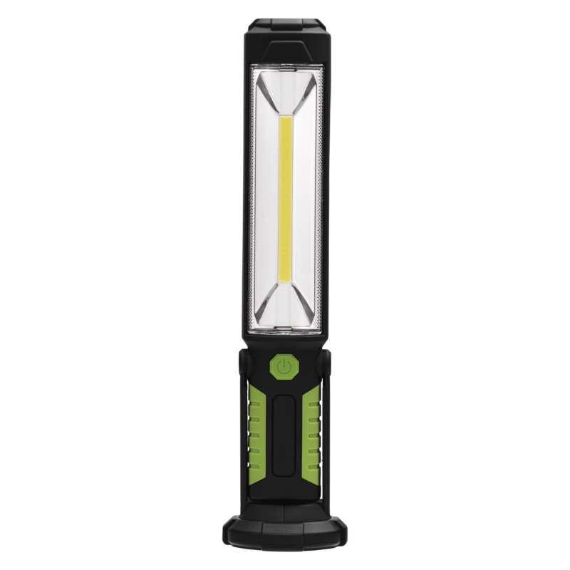 1 x 5 W COB LED + 5 LED es akkumulátoros szerelőlámpa. P4525