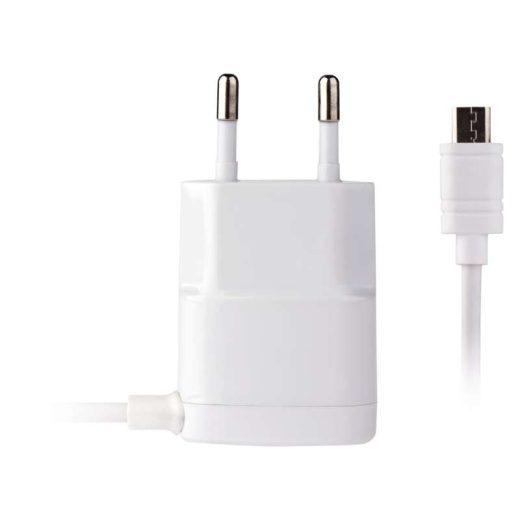 Emos Hálózati Töltő - 1xUSB - 1A - micro USB kábellel