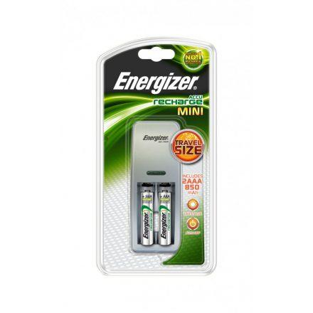 Energizer Mini NiMH Akkumulátor Töltő + 2x 700 mAh AAA
