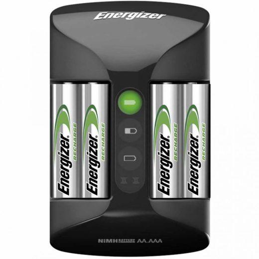 Energizer Pro NiMH Akkumulátor Töltő + 4x 2000 mAh AA