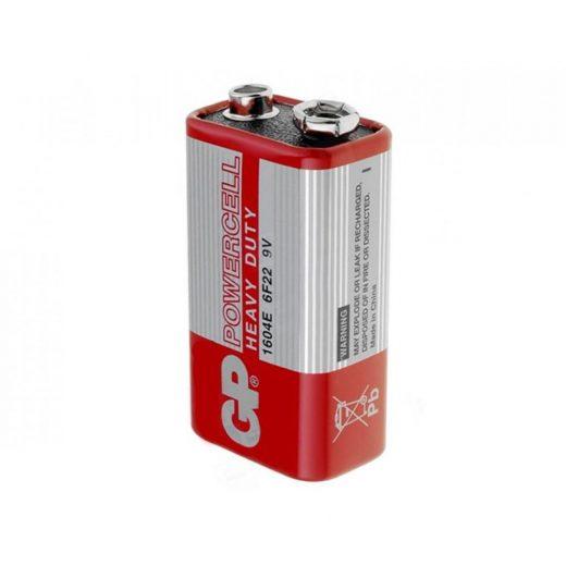 GP Powercell Féltartós 9V 6F22 Elem - fóliában