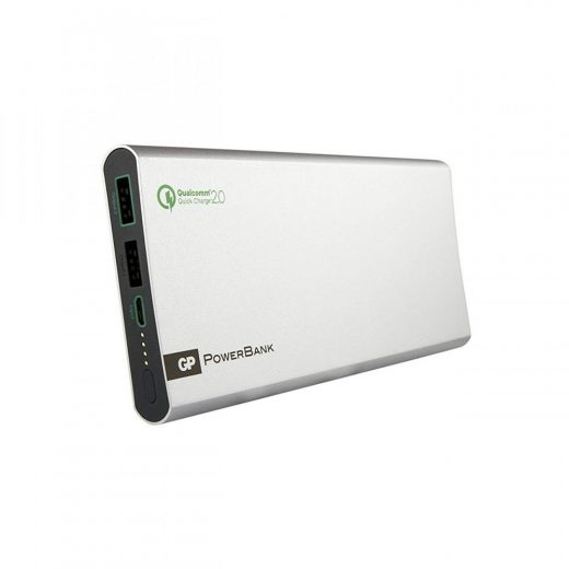 GP PowerBank 10000 mAh -  FP10MB - QC2.0 - Ezüst