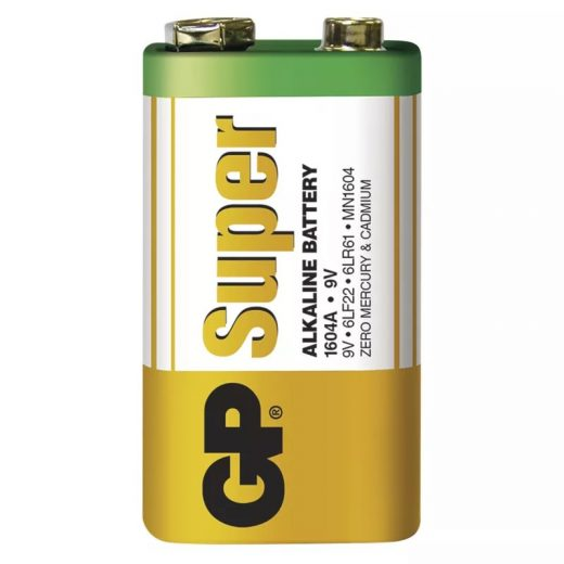 GP Super Alkáli 9V 6LR61 Elem