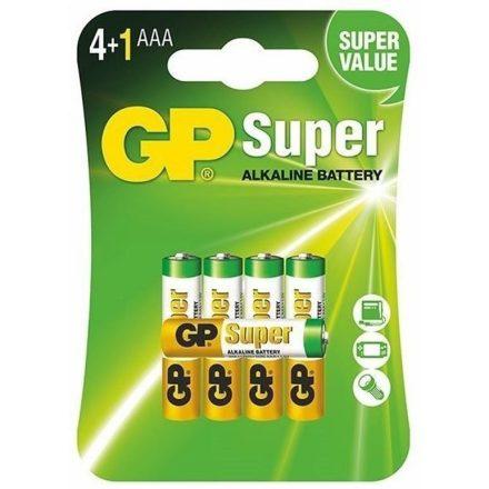 GP Super Alkáli AAA Mikro LR03 elem x 5 db