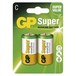 GP Super Alkáli C Baby LR14 Elem, 2 db