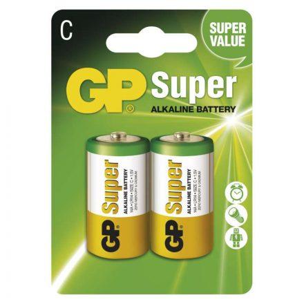 GP Super Alkáli C Baby LR14 Elem x 2 db