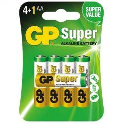 GP Super Alkáli AA Ceruza LR6 elem, 5 db