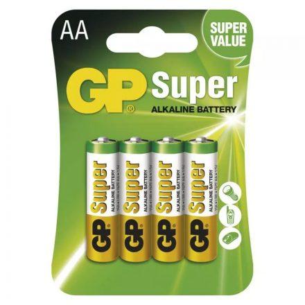 GP Super Alkáli AA Ceruza LR6 elem x 4 db