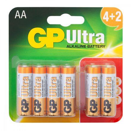 GP Ultra Alkáli AA Ceruza LR6 elem x 6 db