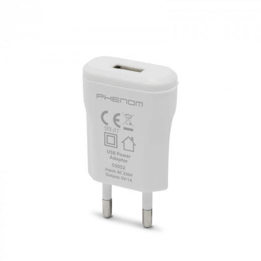 USB Hálózati Töltő - 1xUSB - 1A