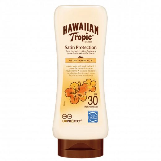 Hawaiian Tropic Satin Protection SPF30 Naptej 180 ml