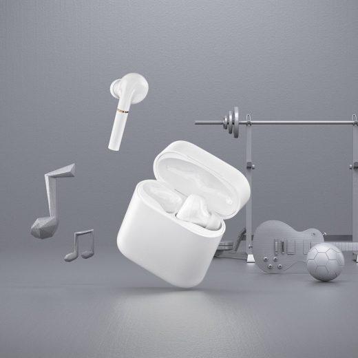 Haylou T19 TWS Vezeték Nélküli Bluetooth 5.0 Fülhallgató - Fehér