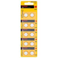 Kodak AG13 LR44 Alkáli Gombelem, 10 db