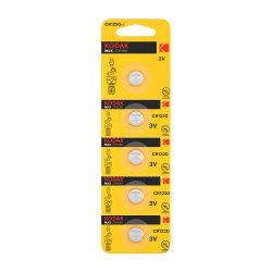 Kodak CR1220 3V Lítium Gombelem, 5 db