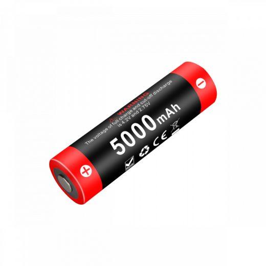 Klarus 21700 21GT-50 3,6V 5000 mAh védett Li-Ion akkumulátor
