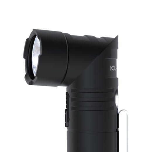 Klarus AR10 Elemlámpa -  Dönthető fejrész - 1080 lm - 1x 18650 USB-s akkuval