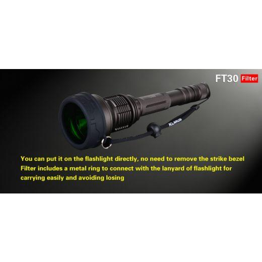 Klarus FT30 Zöld szűrő (58 mm)