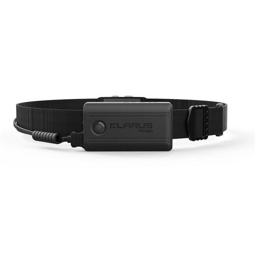Klarus HR1 Pro Újratölthető Fejlámpa - 400 lm - 1200mAh akkuval - Fekete