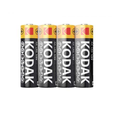 Kodak Xtralife Alkáli Ceruza AA LR6 elem, 4 db fóliában