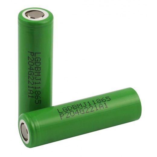 LG 18650 MJ1 3500 mAh akkumulátor
