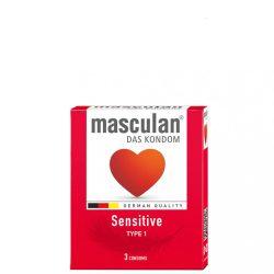 Masculan Sensitive Gumióvszer - 3 db
