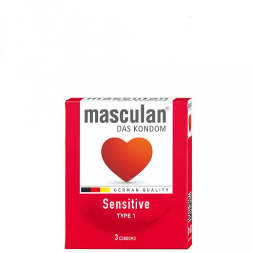 Masculan Sensitive Gumióvszer - 3 db