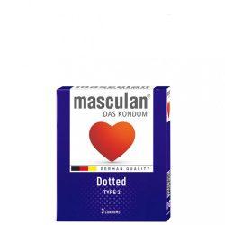 Masculan Dotted Gumióvszer - 3 db