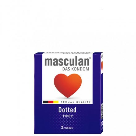 Masculan Dotted Gumióvszer x 3 db