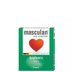 Masculan Anatomic Gumióvszer - 3 db
