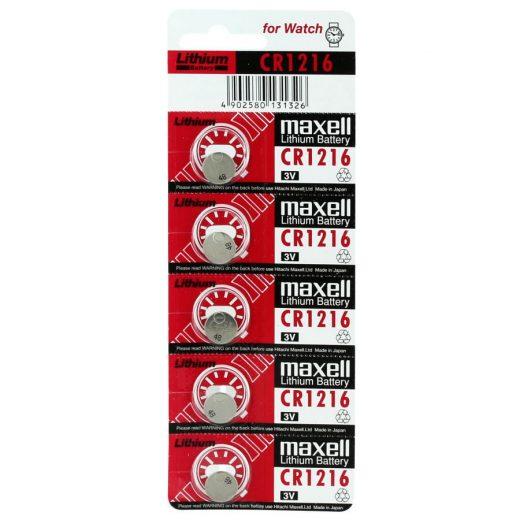 Maxell CR1216 Gombelem