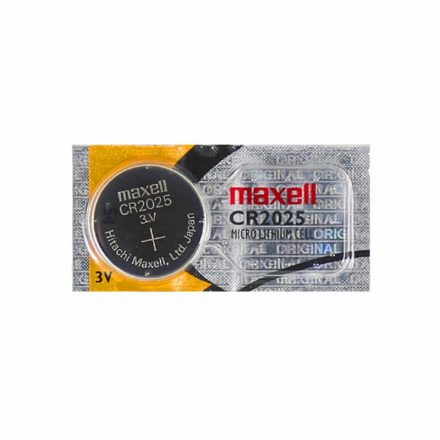 Maxell CR2025 Gombelem