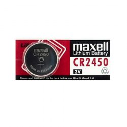 Maxell CR2450 Gombelem