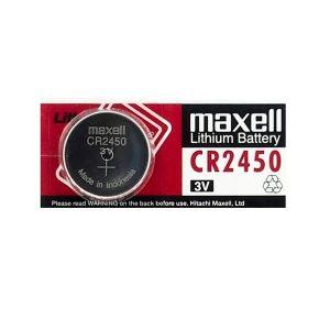 Maxell CR2450 Gombelem