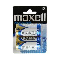 Maxell Alkáli Góliát D LR20 elem - 2 db