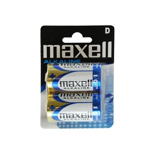 Maxell Alkáli Góliát D LR20 elem x 2 db