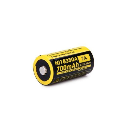 Nitecore 18350 IMR akkumulátor