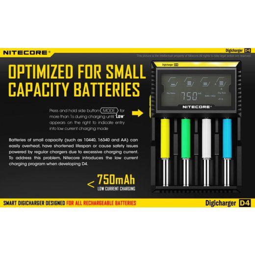 Nitecore D4 Akkumulátor Töltő
