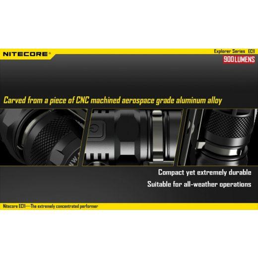 Nitecore EC11 Elemlámpa - 900 lm