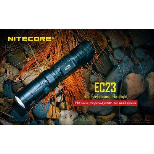 Nitecore EC23 Elemlámpa - 1800 lm