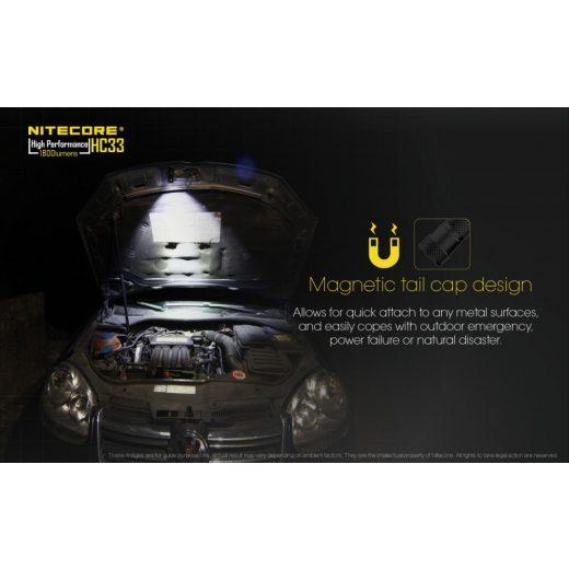 Nitecore HC33 Fejlámpa - 1800 lm