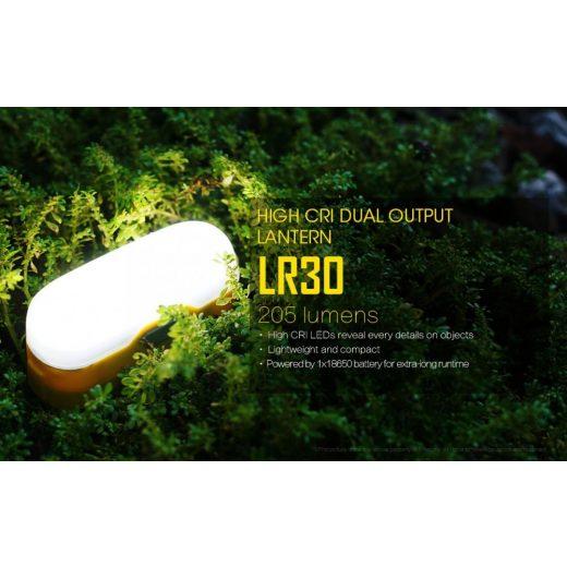 Nitecore LR30 Elemlámpa - Zöld - 205 lm