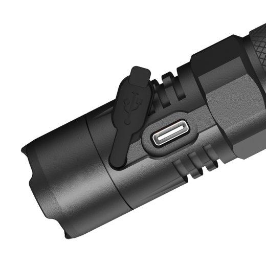 Nitecore MH10 V2 Újratölthető Elemlámpa - 1200 lm - USB-C - 1x 21700 akku