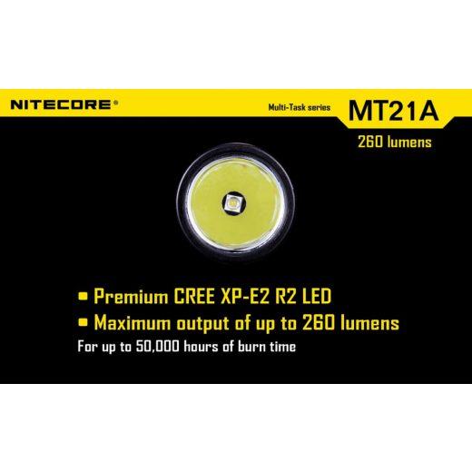 Nitecore MT21A Elemlámpa - 260 lm