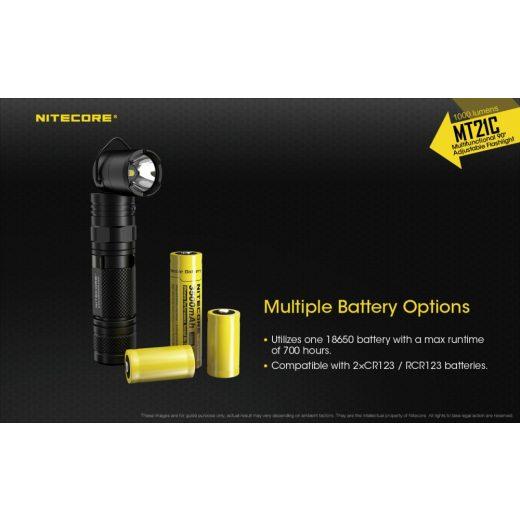 Nitecore MT21C Elemlámpa - 1000 lm