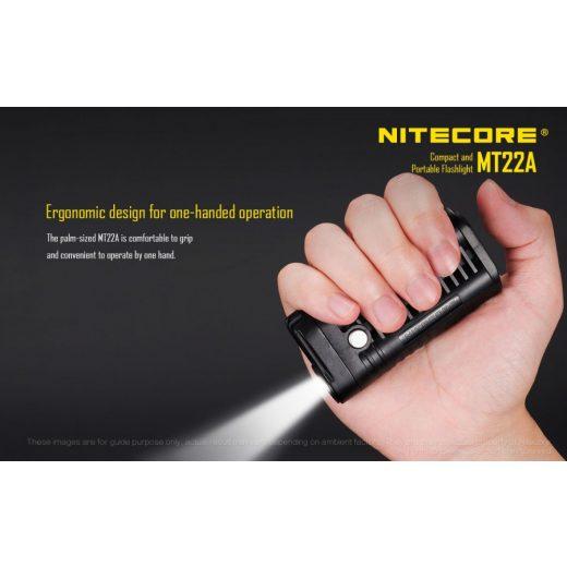 Nitecore MT22A Elemlámpa - Fekete - 260 lm
